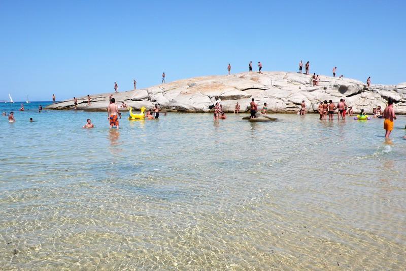 Cartina Sardegna Intera.Spiagge Della Sardegna Tracce Di Sardegna