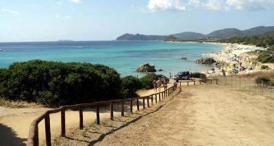 Spiaggia di Villa Rei