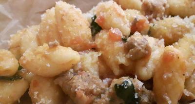 Ricetta dei Chiusoni alla gallurese: con purpuzza e pecorino