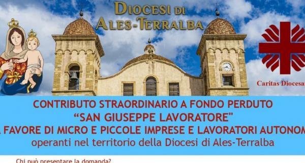 Contributo straordinario a fondo perduto San Giuseppe Lavoratore (Ales-Terralba): scadenza bando 31 Agosto!
