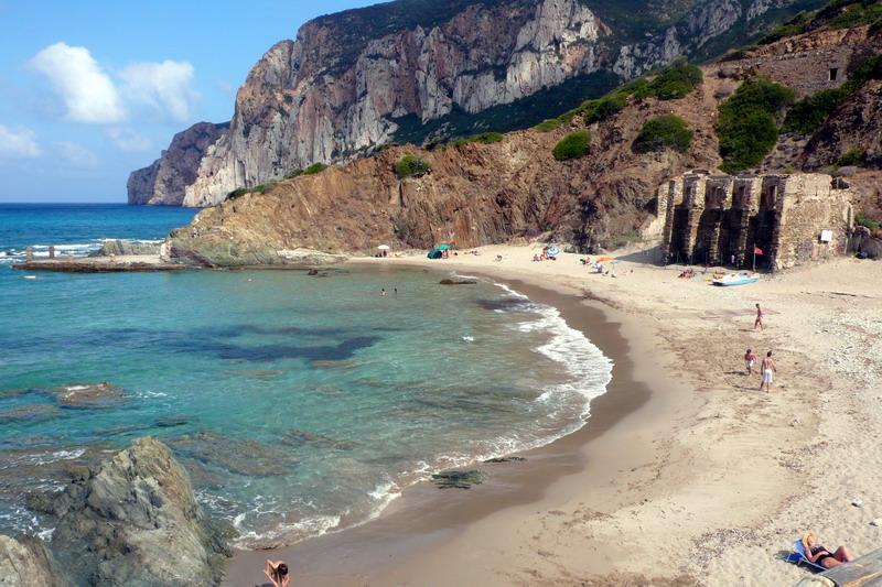 Spiaggia di Masua - Il Molo