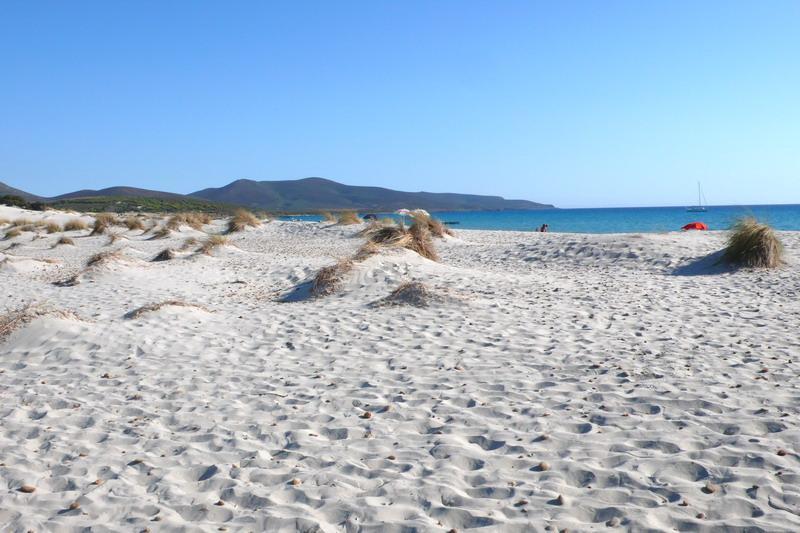 spiagge di porto pino   tracce di sardegna