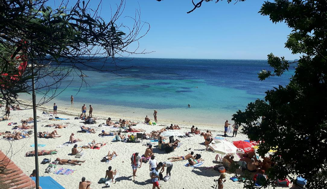 Spiaggia Calamosca   Tracce di Sardegna