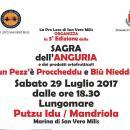 Sagra dell'Anguria e dei prodotti ortofrutticoli a San Vero Milis, ecco l'evento di Sabato 29 Luglio 2017