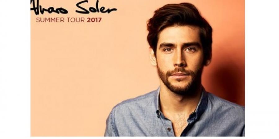 Alvaro Soler in concerto a Cagliari per il Summer Tour 2017 il 24 Agosto