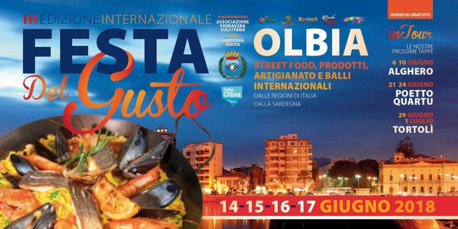 Festa del Gusto in Sardegna, ecco le tappe 2018 in Sardegna