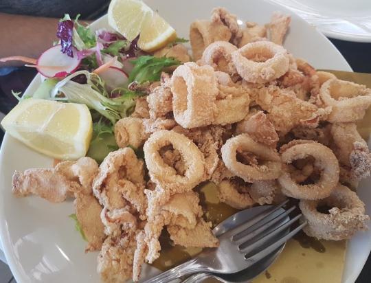 Ricetta Calamari fritti