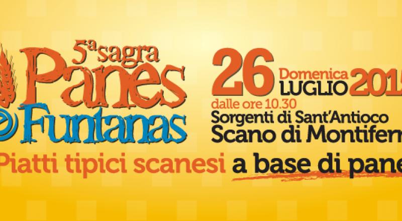 Panes e Funtanas - Piatti tipici scanesi