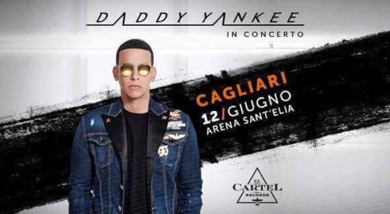 Daddy Yankee in concerto a Cagliari