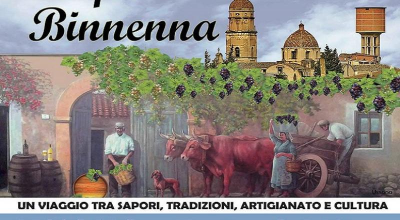 Sagra del Vino 2017 a Ussana, Tempus de Binnenna, il programma completo dal 20 al 22 Ottobre 2017