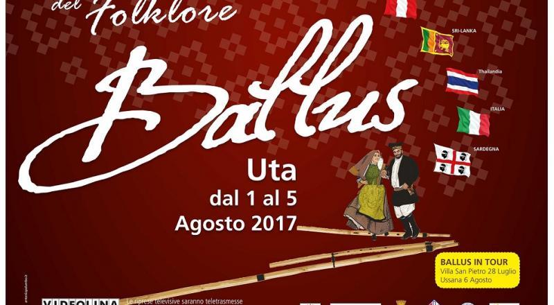 Ballus 2017 a Uta, ecco il programma dell'evento dal 1 al 5 Agosto 2017