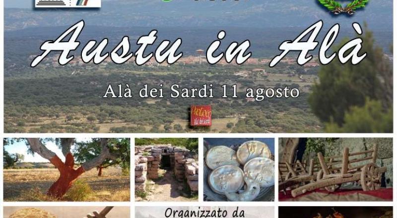 Austu in Alà, promozione del territorio con prodotti tipici