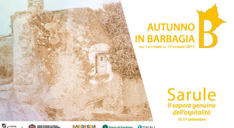 Autunno in Barbagia 2017 a Sarule, ecco il programma dell'evento del 16 e 17 Settembre