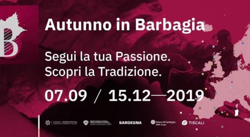 Autunno in Barbagia 2019 a Teti, programma del 30 novembre e 1 dicembre