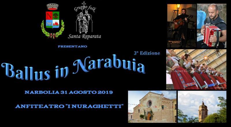 Ballus in Narabuia 2019, Narbolia 31 agosto