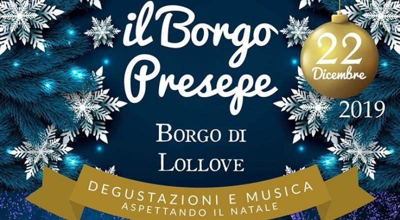 Il Borgo Presepe a Lollove (Nuoro), il 22 dicembre!