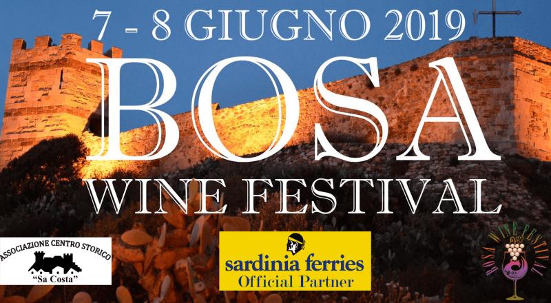 Bosa Wine Festival 2019, il programma evento del 7 e 8 giugno 2019