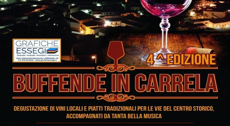 Buffende in Carrela a Chiaramonti, ecco l'evento del 10 Marzo 2018