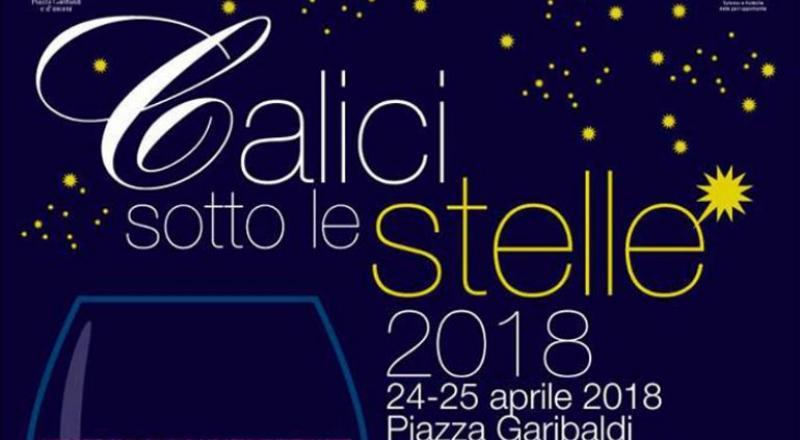 Calici Sotto le Stelle a Cagliari, ecco l'evento del 24 e 25 Aprile 2018