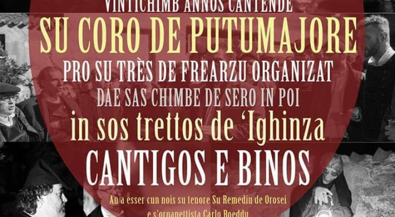 Cantigos e Binos a Pozzomaggiore, l'evento del 3 Febbraio 2018