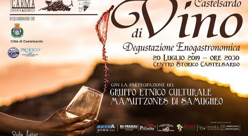 Castelsardo diVino 2019, programma del 20 Luglio!