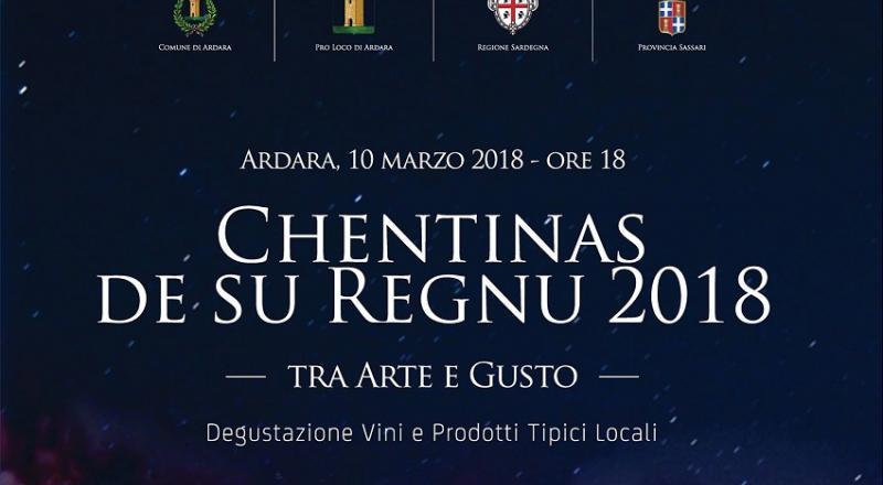 Chentinas de su Regnu 2018 ad Ardara, Sabato 10 Marzo 2018