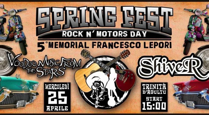 Spring Fest, Rock 'n Motors Day a Trinità d'Agultu, mercoledì 25 aprile 2018