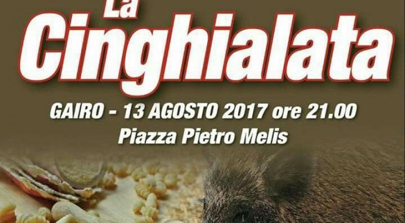 La Cinghialata di Gairo, ecco l'evento in programma Domenica 13 Agosto 2017