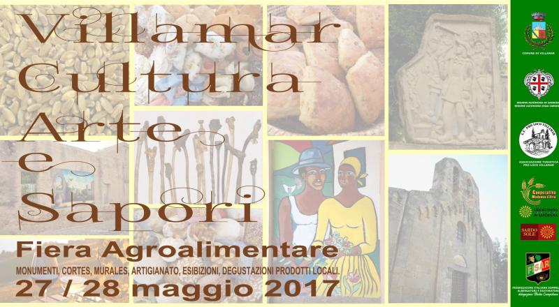 Villamar, Cultura Arte e Sapori, ecco il programma del 27 e 28 Maggio 2017