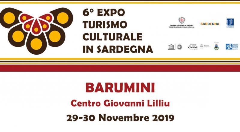 VI Expo del Turismo Culturale in Sardegna, 29 e 30 a Barumini