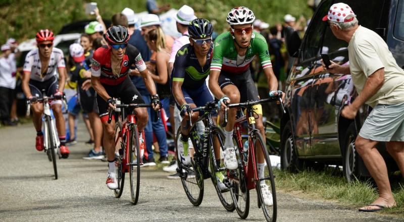 Fabio Aru maglia Gialla al Tour de France