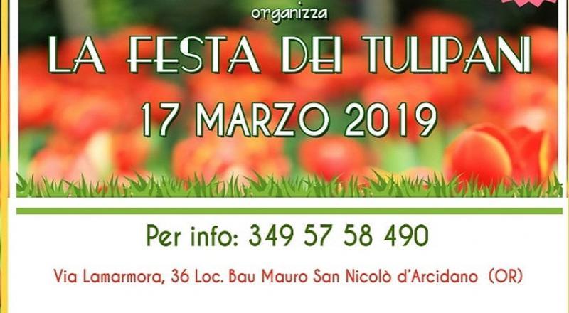 Festa dei Tulipani a San Nicolò d'Arcidano, domenica 17 marzo