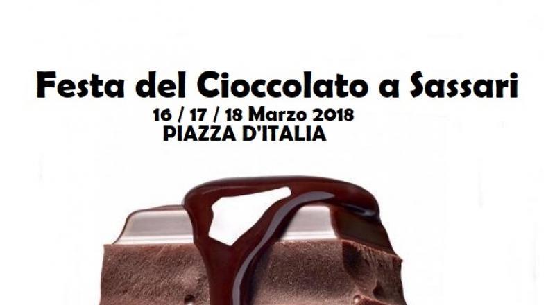 Festa del Cioccolato a Sassari, ecco l'evento del 16 17 e 18 Marzo 2018