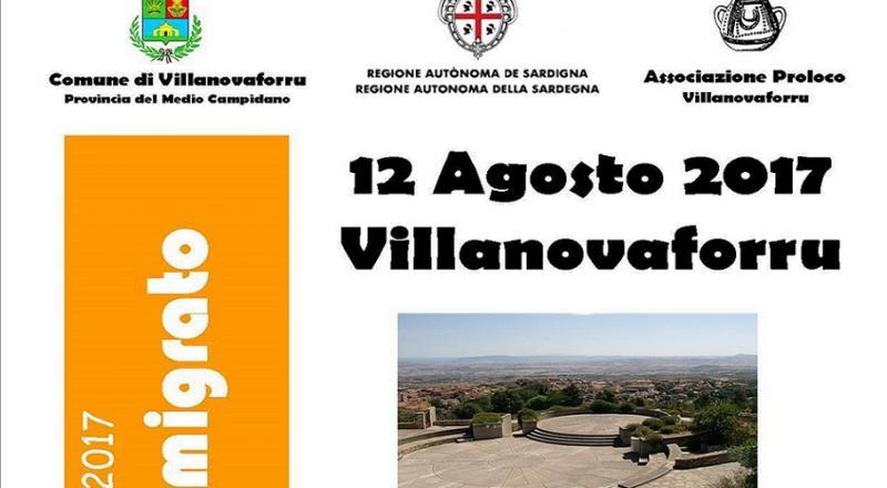 Festa dell'Emigrato 2017 a Villanovaforru, ecco il programma dell'evento di Sabato 12 Agosto