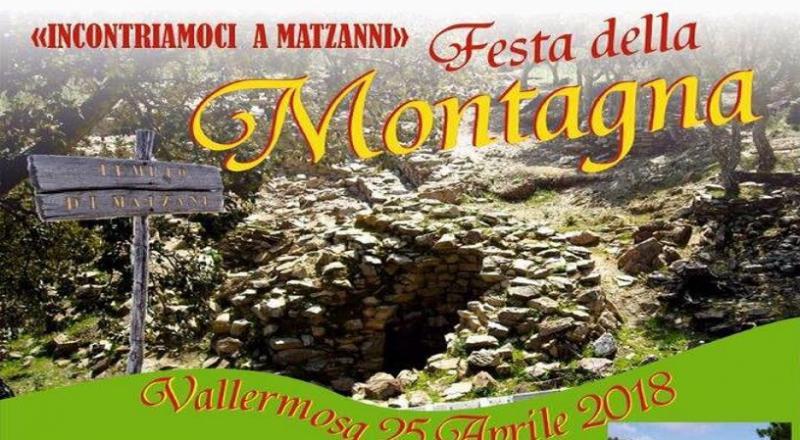Festa della Montagna di Vallermosa, ecco il programma completo del 25 Aprile 2018