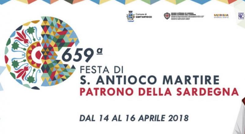 659ma Festa di Sant'Antioco Martire dal 14 al 16 aprile 2018