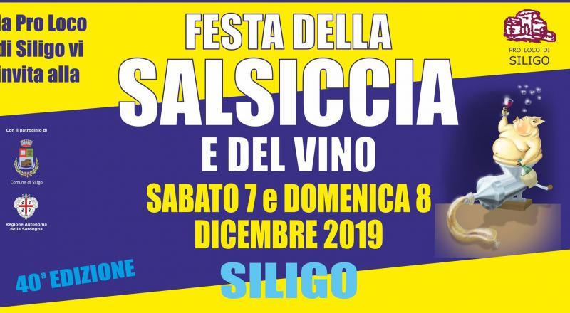 Festa della Salsiccia e del Vino a Siligo, programma del 7 e 8 dicembre 2019