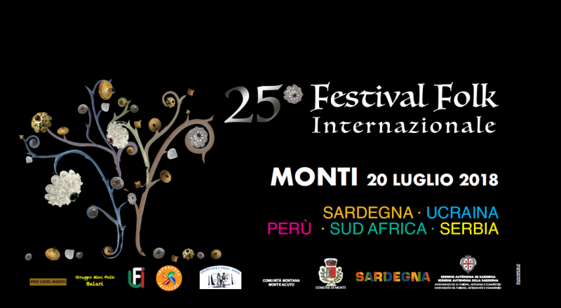 Festival Folk Internazionale di Monti, ecco il programma dell'evento del 20 Luglio 2018