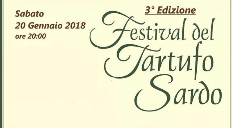 Festival del Tartufo Sardo ad Alghero, Sabato 20 Gennaio 2018