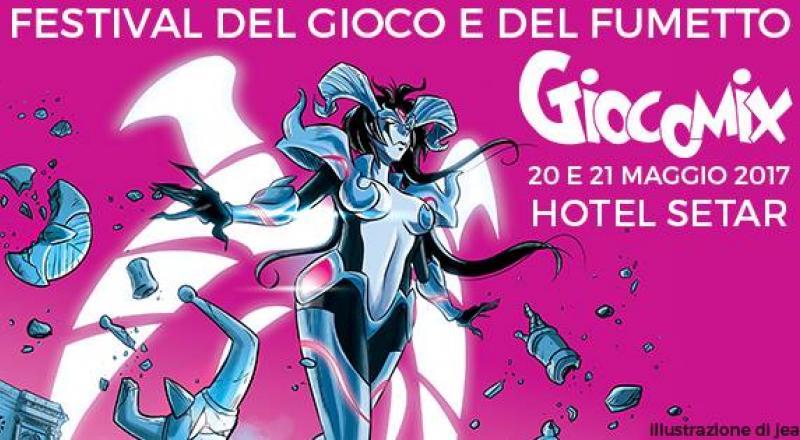 Giocomix Cagliari, ecco la Decima edizione del Festival del gioco e del fumetto