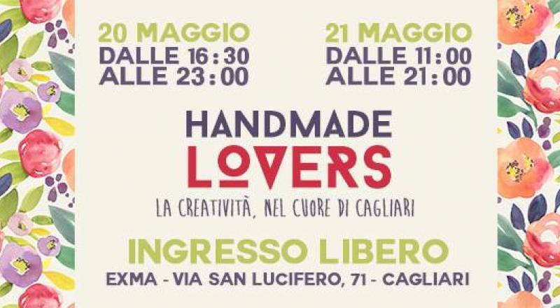 Mercatino Creativo a Cagliari: Handmade Lovers il 20 e 21 Maggio 2017