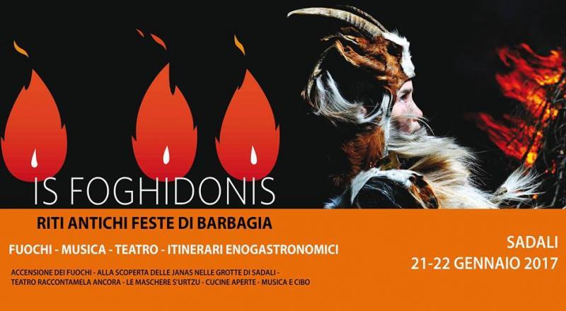 Is Foghidonis 2018, il programma dei fuochi di Sant'Antoni a Sadali