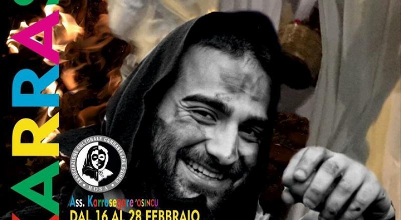 Karrasegare Osincu 2018, il Carnevale di Bosa