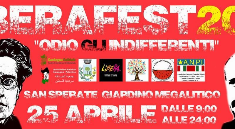 Liberafest 2018 a San Sperate, ecco il programma dell'evento del 25 Aprile