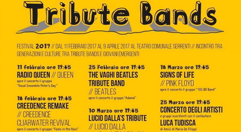 Tribute Bands Festival a Serrenti, Ecco il programma dall'11 Febbraio al 25 Marzo 2017