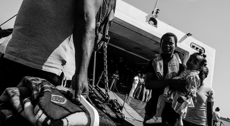 Stato Migrante, personale di Roberto Pili al Ghetto
