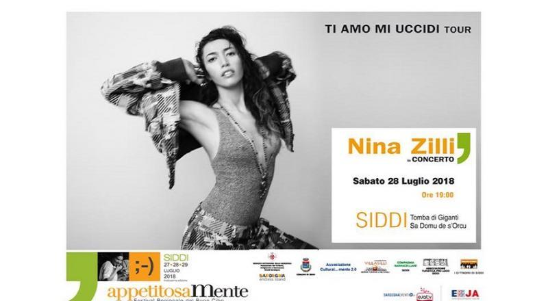 Nina Zilli in concerto a Siddi il prossimo 28 Luglio!