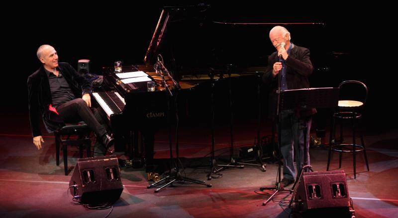 Gino Paoli e Danilo Rea in concerto a Cagliari