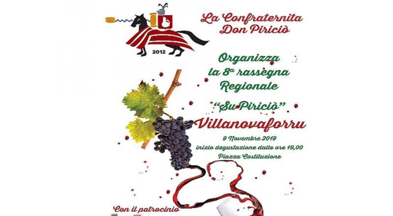 Su piriciolu a Villanovaforru, la rassegna di sabato 16 novembre 2019
