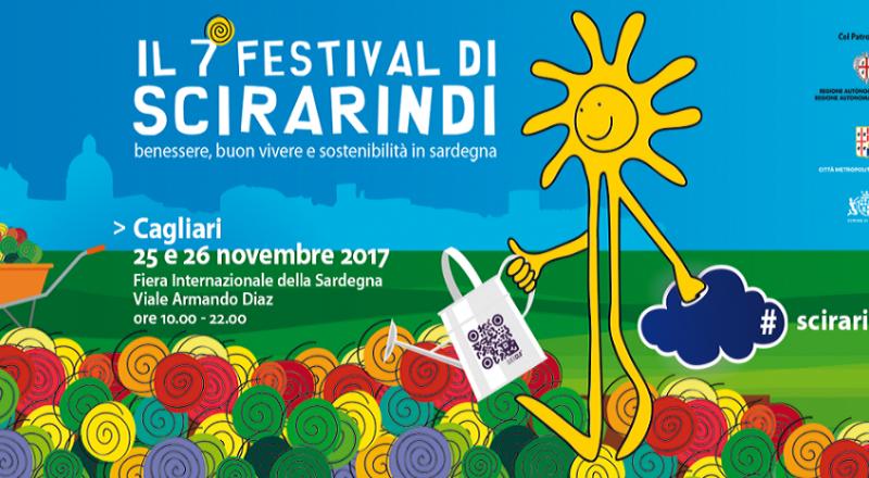 Festival Scirarindi 2017, ecco l'evento del 25 e 26 Novembre a Cagliari